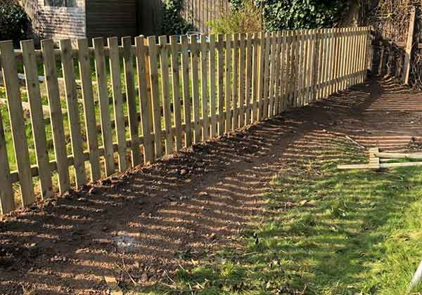 Garden Fence Repair After
